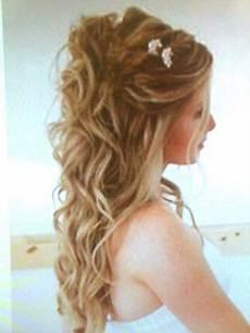 Festliche Frisur Halb Offen Brautfrisuren Lange Haare