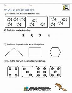 math addition worksheets kindergarten free 9327 printable kindergarten math worksheets comparing numbers and size