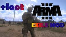 exile mod arma 3 exile mod gameplay pvp combat high loot sniping