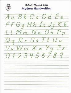 alphabet handwriting practice writing