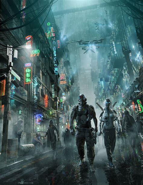 Sci Fi Cyberpunk