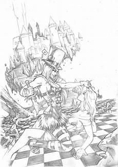 grimm fairy tales wonderland 31 pencil by vinz el tabanas