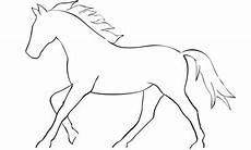 Malvorlage Pferd Umriss Bilder Und Suchen Sprintreiten