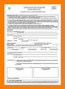 certificat de cession de véhicule 2018 13 certificat de cession d un vehicule empereur