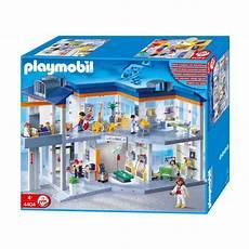 Playmobil Ausmalbild Krankenhaus Playmobil 174 4404 Gro 223 Es Krankenhaus Mit Einrichtung Ebay