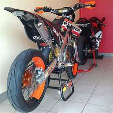 Modifikasi Supermoto modifikasi motor dtracker supermoto keren