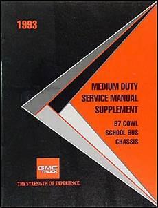 1993 gmc topkick wiring diagram 1993 medium duty wiring diagram manual factory reprint kodiak topkick fc b7 school