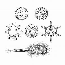 virus de gripe y bacterias de e ilustraci 243 n