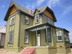 victorian house colors green button homes