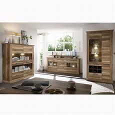 Wohnzimmer Esszimmer Kombi - wohnkombi montreal in nussbaum satin wohnzimmer komplett