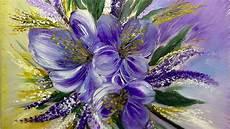 sommerblumen einfach malen blumen easy painting flowers