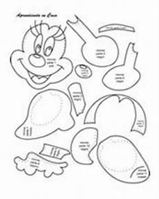 descarga molde minnie mouse fommy pinterest molde minnie mouse e camundongos