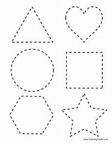 letter shapes worksheets 1173 number letter and shape tracing trazos preescolar matem 225 ticas preescolar y fichas preescolar