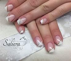 nageldesign schräg nails n 228 gel nageldesign frenchstyle schr 228 g wei 223 white
