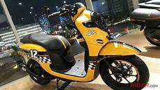 Scoopy New Modif by All New Honda Scoopy 2017 Sporty Ala Cafe Racer