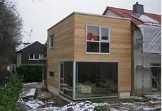 holzanbau energetische sanierung eines reihenhauses in