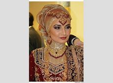 New and Exciting Hijab Styles For Wedding   Bridal hijab