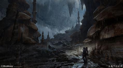 Concept Art Cave