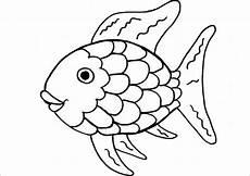 Malvorlage Fisch Schuppen Fische Basteln Mit Kindern Zum Dekorieren Spielen Und