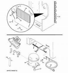 ge upright freezer wire diagram ge fuf17svfrww upright freezer parts sears parts direct