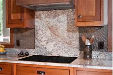Limestone Backsplash Kitchen Height Granite Backsplash