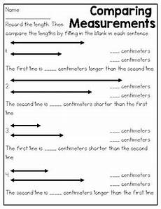measurement practice worksheets 2nd grade 1875 metric length practice sheets by kmwhyte s kreations tpt