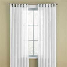 Tab Top Curtains by White Tab Top Curtains