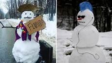 most and creative snowman ideas vnfa