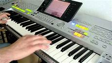 bee gees massachusetts live played on yamaha tyros 1 by