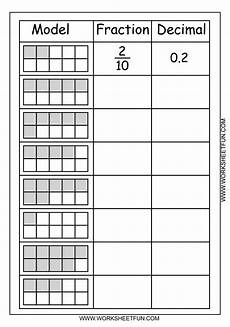 worksheet decimal to fraction 7306 free printable worksheets fraction decimal education free printable