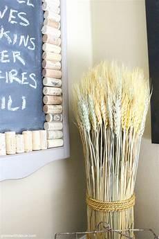fall kichen wheat grass 1 green with decor