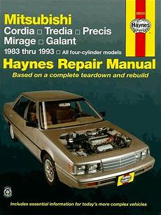 what is the best auto repair manual 1993 nissan quest seat position control cordia tredia precis mirage galant repair manual 1983 1993
