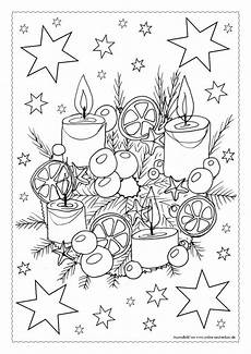 Malvorlagen Advent Adventskalender Ausmalbilder Teil 4 21 12 Bis 24 12