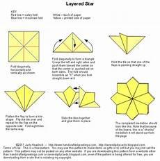 Layered Tea Bag Folding Origami