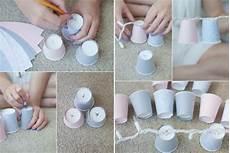 basteln mit bechern aus kunststoff pappe 7 tolle ideen
