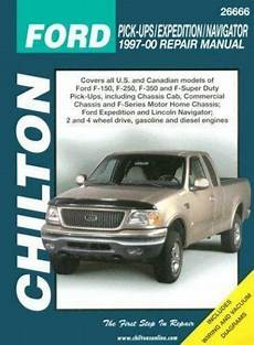 car manuals free online 1999 lincoln navigator auto manual total car care repair manuals ford pick ups expidition and navigator 1997 00 by chilton