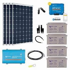 Kit Solaire Autonome 1200w Convertisseur 230v