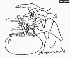 ausmalbilder hexen und zauberer malvorlagen 2