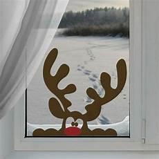 Fensterbilder Weihnachten Vorlagen Rentier Fensterbilder Zu Weihnachten Originelle Bastelideen Zum