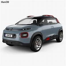 Citroen C Aircross 2017 3d Model Vehicles On Hum3d