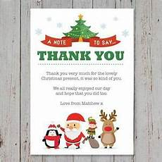 10 personalised childrens thank you cards