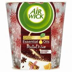 candele air wick air wick candle mulled wine 105g wilko