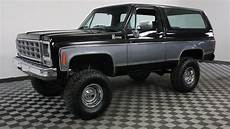 1979 chevrolet blazer black youtube