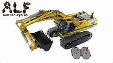 lego technic 8043 motorized excavator lego speed build