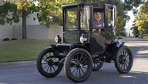 Back To The Future In A 98 Year Old Electric Car  New