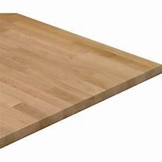 arbeitsplatte massivholz 240 cm x 60 cm x 2 7 cm eiche
