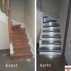 comment rénover des escaliers en bois r nover un escalier des kits pour habiller de bois marches