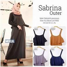 Sabrina Setelan Muslim busana muslim modern sabrina outer grosir baju muslim