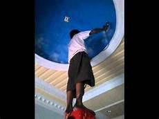 Dasar Lukisan Awan Plafond Gypsum