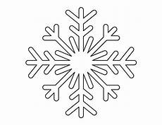 printable page snowflake pattern use the pattern for